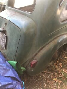 1954 Ford pop sit up and beg ( hot rod project)