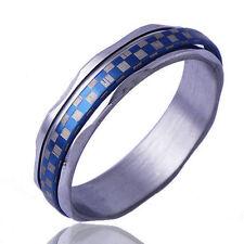 Ring white Gold Plated Size 9 Fashion Arab type Men's Band Promise Mood Retro