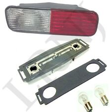 LAND ROVER DISCOVERY 2 COMPLETE REAR BUMPER LIGHT KIT RED / CLEAR LH DRIVER SIDE