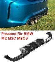 MAX Carbon gfk GT Diffusor heck Performance Bumper GT Bumper passend für BMW M2
