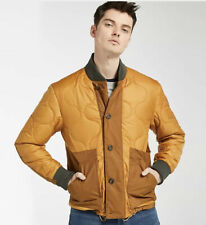 TIMBERLAND MEN'S ECORIGINAL QUILTED BOMBER WHEAT A1XW9 JACKET. SZ: L