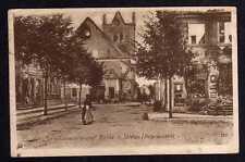 100429 AK Ostpreussenhilfe Soldau Ostpr. zerschossene ev. Kirche 1916 Feldpost G