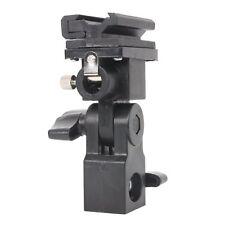 Flash Bracket B Shoe Umbrella Holder Swivel Light Stand for Canon/Nikon/Yongnuo