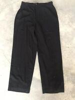 Bob Mackie Black Womens Wearable Art Elastic Waist Trouser Pants Size Large