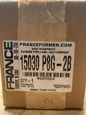 France 15030 P8g 2b 15000v 30ma 120v Outdoor Neon Transformer Franceformer