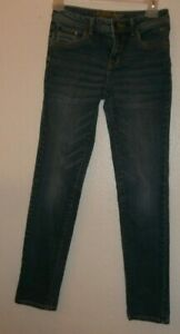 JUSTICE JEANS Size 14 slim Simply low kids girls jeans light wash