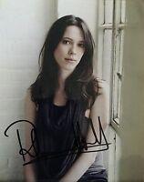 Rebecca Hall HAND SIGNED Autograph Image E 10x8 Photo  COA