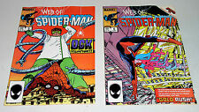 WEB OF SPIDER-MAN #5 AND #6  HIGH GRADE EARLY ISSUES Free Shipping