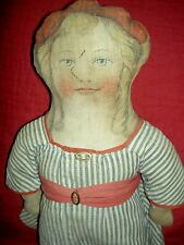 """Rare, 1918 antique Art Fabric Mills, Standish Ny ,""""Improved Foot Cloth Doll"""""""