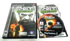 Tom Clancy's Splinter Cell: Double Agent ps2 (Sony PlayStation 2, 2006) complete