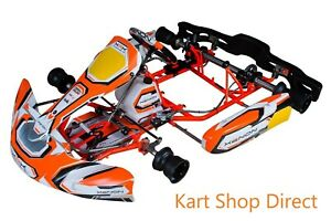 Brand New Xenon GT Kart Rolling Chassis With New Senior Rotax Evo Engine