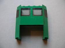 Lego 1 cabine de train verte set 7898 / 1 green train front with cutout