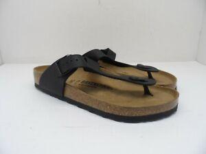 Birkenstock Unisex Gizeh BS Sandals Black Size 42 (L 11 - M 9)