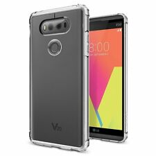 LG V20 Case, Spigen Crystal Shell Clear Crystal Case
