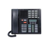 Lot of (10) Refurbished Nortel M7310 Display Phone NT8B20 (Black)