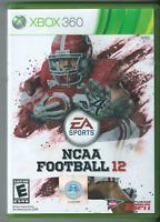 🔥🔥🔥 NCAA Football 12 (Microsoft Xbox 360, 2011) 🎮🎮🎮