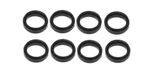 Upper Intake Manifold Seal Ring Set 8pcs Mercedes W140 W124 R129 W126 R107 W116