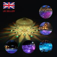 More details for floating sensory colorful led light underwater lazy spa hot tub swimming pool uk