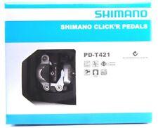 Shimano PD-T421 Trekking CLICK'R SPD Pedals Set w/ Cleat SM-SH56