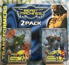 Transformers BEAST MACHINES 2-Pack Obsidian Quickstrike MOSC 1999 New