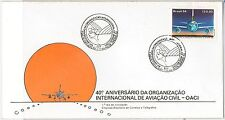 BRAZIL -  POSTAL HISTORY - FDC COVER : CIVIL AVIATION airplanes 1984