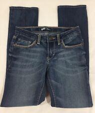 Levi's Girls Youth Skinny Blue Jeans Size 10 medium blue wash Adjustable Waist