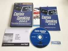 Captain Speaking 2002 - Extension Pour Microsoft Flight Simulator 2002 - PC - FR