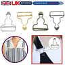 45mm Metal Clip Fasteners Dungaree Buckles for Suspenders Clothing Craft 2/10pcs