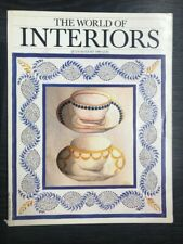 The World of Interiors Magazine: July/August 1989