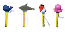 More details for floating thermometer duck turtle whale fish for swimming pool hot tub pond