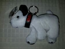 """RCA Nipper Plush Dog Toy Key Chain """" BEAUTIFUL COLLECTIBLE ITEM """" New in Bag"""