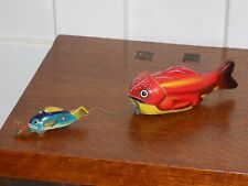 Tin Toy Magic fish Big Fish Little Fish Friction