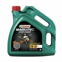 NEW CASTROL ENGINE OIL MAGNATEC STOP-START 5W30 C3 - 4 LITRE 15983F BEST QUALITY