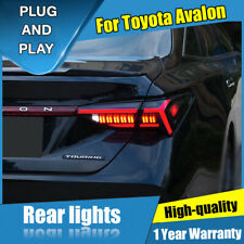 For Toyota Avalon Dark LED Rear Lights Assembly LED Tail Lamps 2019-2020