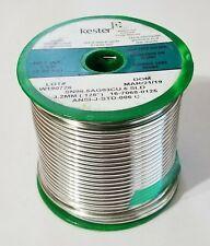 5 2470687608 .015 Kester Solder Wire Solder Sn96.5AG03Cu.#58//275 .40MM //