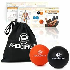 PROCIRCLE Massage Lacrosse Balls for Myofascial Release Trigger Point Therapy