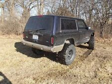 Ares Fab Jeep Cherokee XJ Rear Evolution Expedition Tire Carrier Ready Bumper