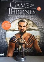 Game Of Thrones GOT Official Collectors Models #18 Khal Drogo Figurine NEW