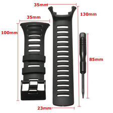 For SUUNTO Ambit2 S Ambit2 Red and Ambit3 Watch Strap Black Rubber Part Tool