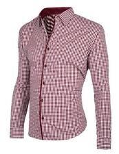 Markenlose Herren-Freizeithemden aus Polyester
