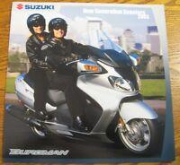 2003 Suzuki Scooter Motorcycle Brochure Burgman 650 400