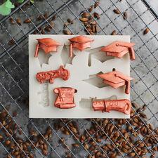 Graduation Hat Silicone Mold Fondant Mould Chocolate Mold Cake Decorating Too FE