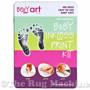 BABY MADE - Baby Inkless Print Kit - Foot Hand Print No Mess Child Safe **NEW**