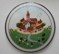 "Villeroy & Boch Naif Folk Art Design Trinket Dish VITRO Porcelain 4"""