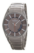 Skagen Aktiv Mens Three-Hand Date Titanium Watch SKW6034