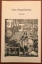 Jill of the Jungle - All Three Episodes - PC Game Manual - Epic MegaGames