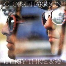 GEORGE HARRISON - THIRTY THREE & 1/3  CD  11 TRACKS POP / PSYCHEDELIC ROCK NEU