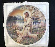 """Bradford Exchange -Garden Of The Lord Collection - Plate #1 """"Love One Another"""""""