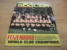 FOOTBALL MAGAZINE monde soccer novembre 1970 CSKA SOFIA Komrad Belgrade PELE