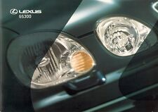 LEXUS GS 300 1999-2000 UK Market sales brochure S SE Sport